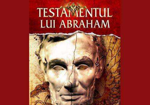 """Romanul """"Testamentul lui Abraham"""" este disponibil pentru precomanda"""