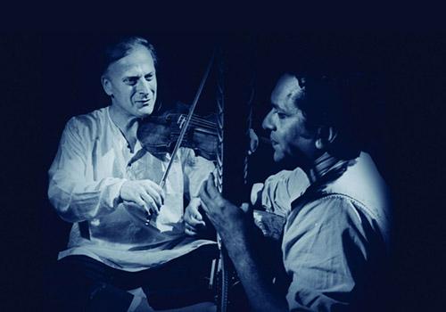 West meets East: Enescu, Menuhin, Shankar