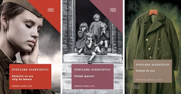 Svetlana Aleksievici se intalneste cu cititorii la Iasi si Bucuresti