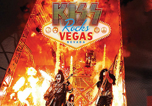 "Film-concert: ""Kiss Rocks Vegas"""