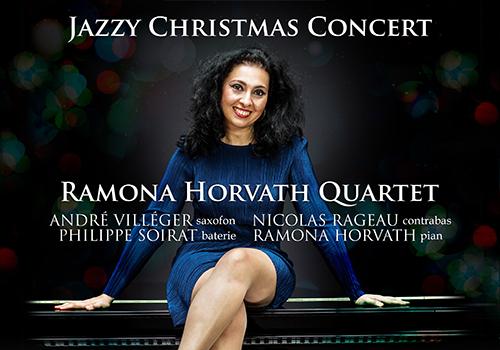 Ramona Horvath Quartet canta la Jazzy Christmas
