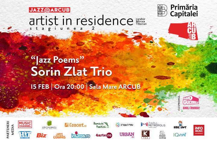 Sorin Zlat Trio concerteaza la Arcub pe 15 februarie