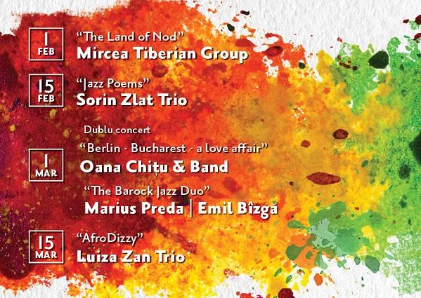 Jazz@Arcub revine de la 1 februarie