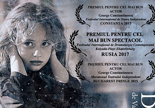 "Spectacolul premiat ""Dureri fantoma"" merge la Brasov"