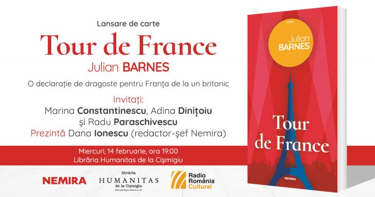 "Lansare de carte: ""Tour de France"" de Julian Barnes"