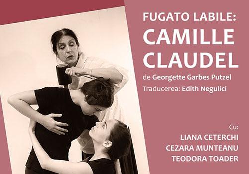 """Spectacol la MNLR: """"Fugato labile: Camille Claudel"""""""