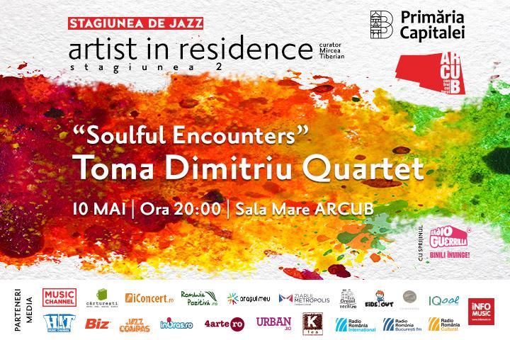 Toma Dimitriu Quartet canta la Arcub pe 10 mai