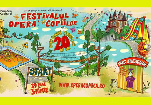 Festivalul Opera Copiilor incepe in 29 mai la OCC