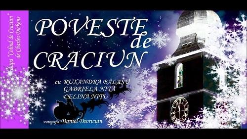 """O """"Poveste de Crăciun"""" se va depăna la Teatrul Coquette"""