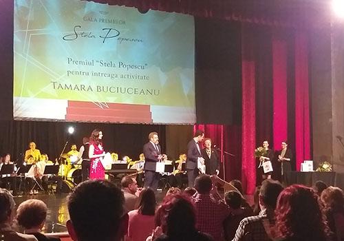 """Prima ediție a Galei Premiilor """"Stela Popescu"""" a premiat excelența la feminin"""