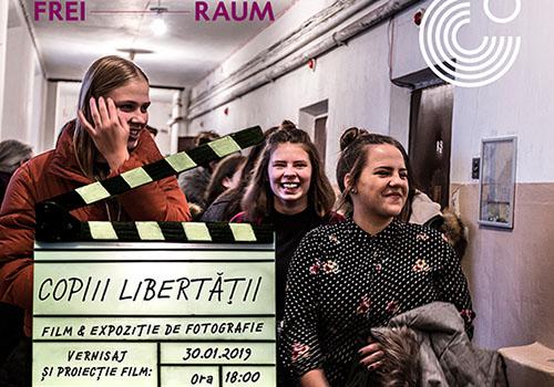 """""""Copiii libertății"""", film și expoziție de fotografie la Goethe-Institut"""