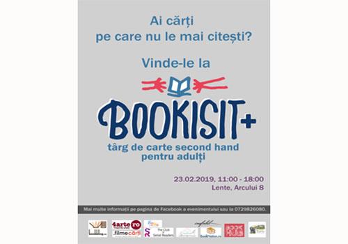 """A doua ediție a târgului """"Bookisit+"""" se va desfășura pe 23 februarie"""