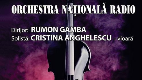 Dirijorul Rumon Gamba este invitatul Orchestrei Naționale Radio pe 8 februarie