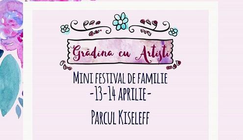 Grădina cu Artiști se deschide weekend-ul 20-21 aprilie