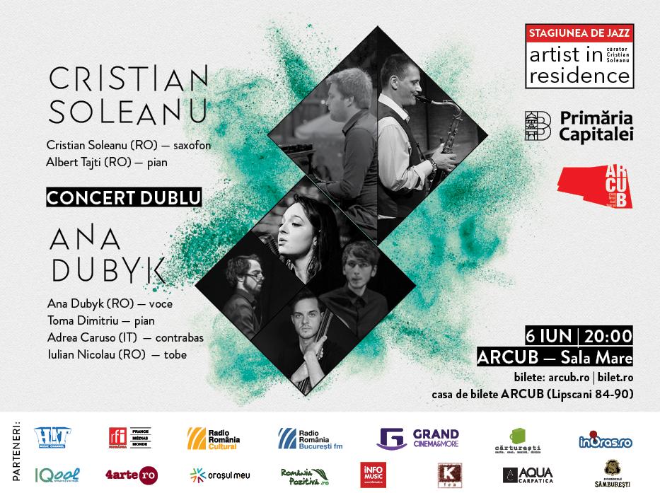 Dublu concert la Artist in Residence pe 6 iunie