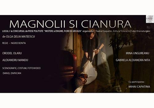 """Teatru în TVR: """"Magnolii și cianură"""""""