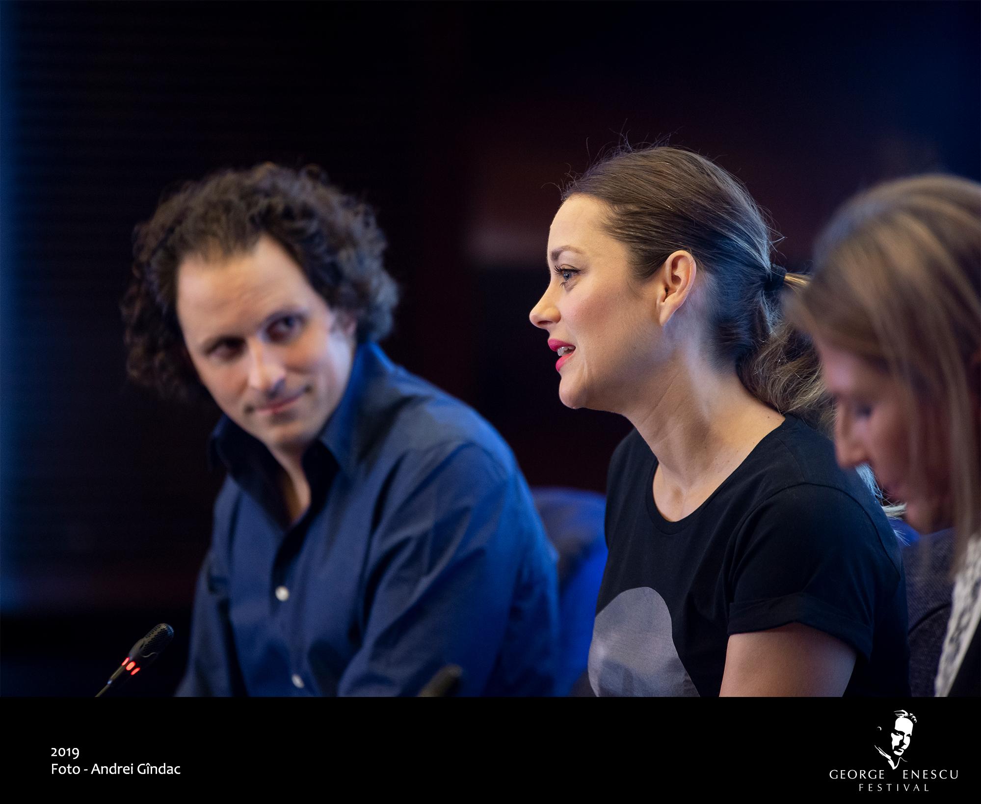 Marion Cotillard a fost Ioana d'Arc la Festivalul Enescu