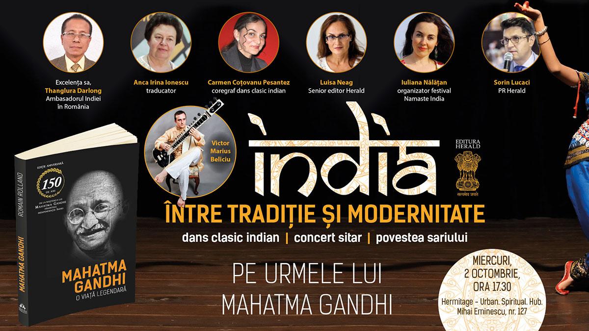 India – între tradiție și modernitate – Pe urmele lui Mahatma Gandhi