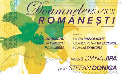 """Lansare de disc: """"Doamnele muzicii românești"""""""