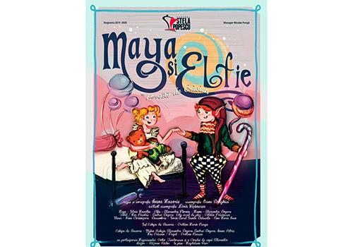 """""""Maya și Elfie, o poveste de Crăciun"""", premieră la Teatrul """"Stela Popescu"""""""