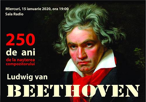 Sala Radio deschide Anul Internațional Beethoven