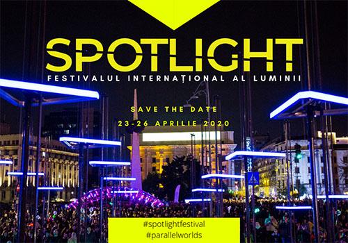 Spotlight – Festivalul Internațional al Luminii revine pe 23 aprilie