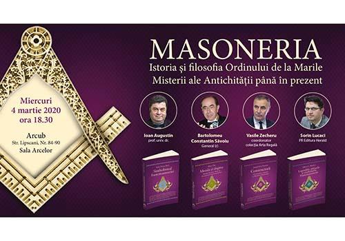 Masoneria – Istoria și filosofia Ordinului de la Marile Misterii ale Antichității până în prezent