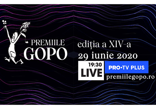 Gala Premiilor Gopo – live pe Internet pe 29 iunie