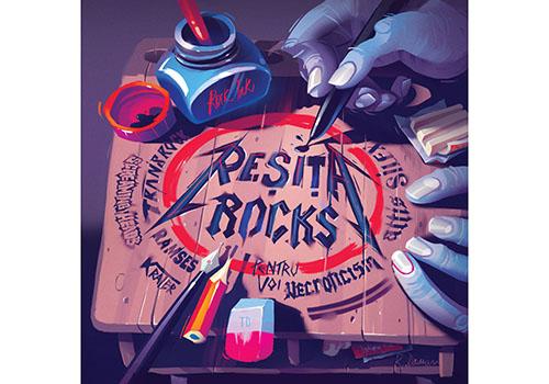 """Reșița Rocks a lansat """"Născuți din foc"""", o antologie a rockului bănățean"""