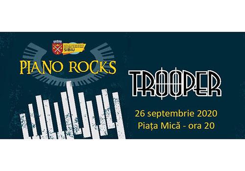 Piano Rocks 2020 va avea loc în Piața Mică din Sibiu