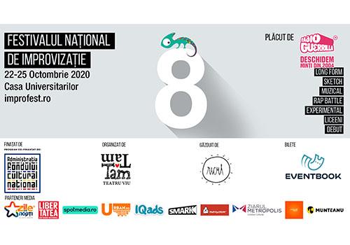 Festivalul Național de Improvizație – !MPRO începe în 22 octombrie