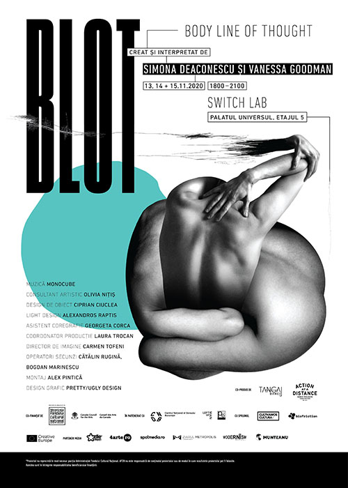 BLOT – Body Line of Thought, proiect coregrafic online și offline
