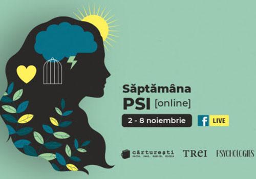 """""""Săptămâna PSI"""" începe în 2 noiembrie, în variantă online"""