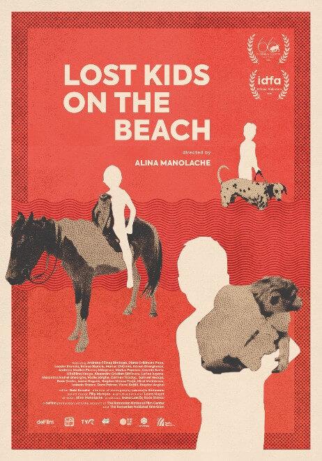 """""""Copii pierduți pe plajă"""", documentarul unei generații"""