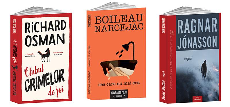 Cărți mystery & thriller: trei recomandări