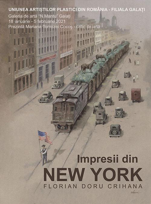 """Expoziție la Galați: """"Impresii din New York"""""""