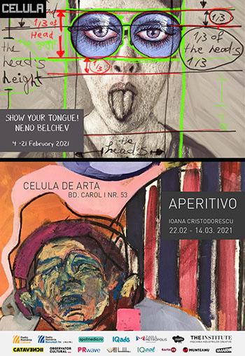 Celula de artă vă invită la două expoziții în februarie