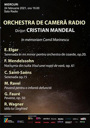 Orchestra de Cameră Radio – In Memoriam Camil Marinescu