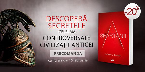 """""""Spartanii"""", în librării din 15 februarie"""
