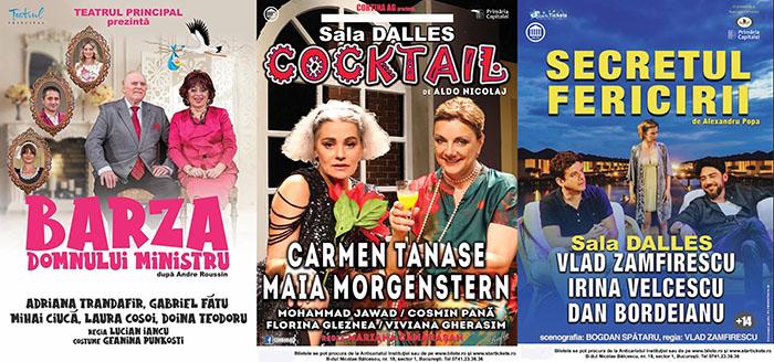 Teatru la Sala Dalles: ce spectacole vă așteaptă?