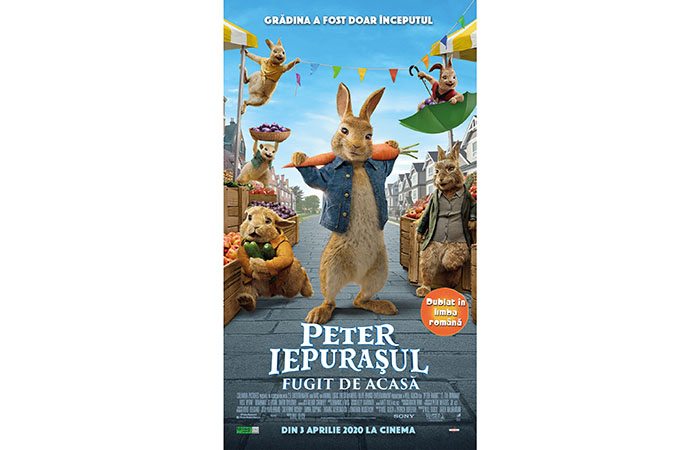 "Trailer ""Iepurașul: Fugit de Acasă"" (""Peter Rabbit 2: the Runaway"")"