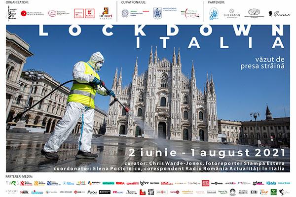 """""""LOCKDOWN ITALIA – văzut de presa străină"""": expoziție de fotografie"""