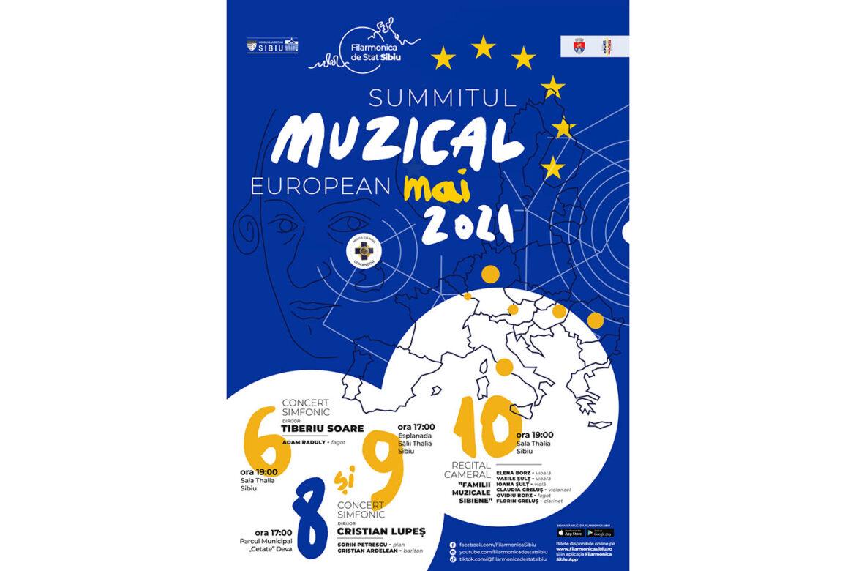 Summit-ul Muzical European 2021 va avea loc la Sibiu și Deva