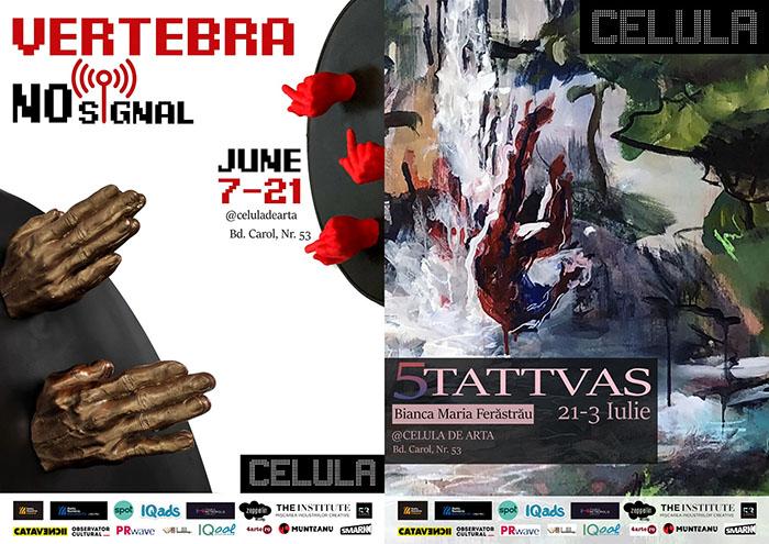 Celula de artă: expozițiile lunii iunie