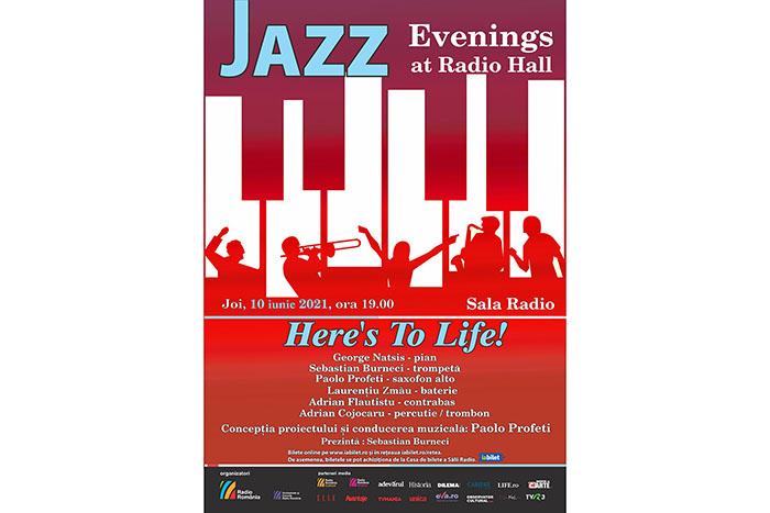 """Here's To Life!"" închide seria de concerte jazz la Sala Radio"