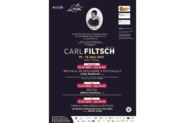 """Finala Concursului de pian """"Carl Filtsch"""" are loc în această seară"""