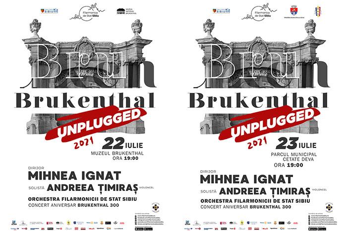 Brukenthal Unplugged continuă la Sibiu și Deva