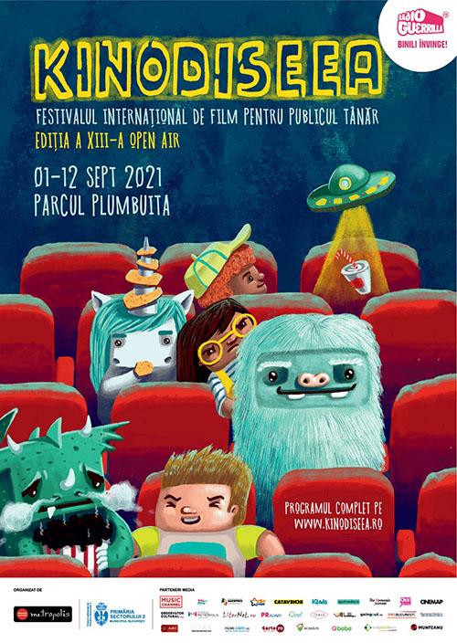 KINOdiseea 2021 aduce în Capitală filme pentru publicul tânăr