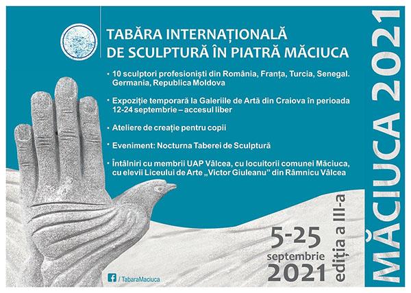 Tabăra Internațională de Sculptură în Piatră Măciuca, la a treia ediție