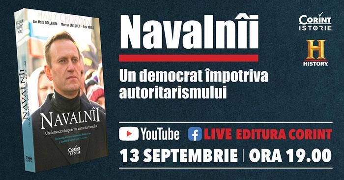 """""""Navalnîi. Un democrat împotriva autoritarismului"""" – interviu în exclusivitate de Ioana Bâldea Constantinescu"""